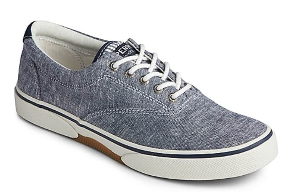 Sperry Men's Halyard CVO Chambray Sneakers