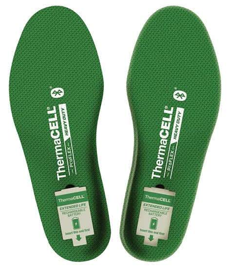 Thermacell ProFlex Heavy Duty Heated Insoles w/ Bluetooth