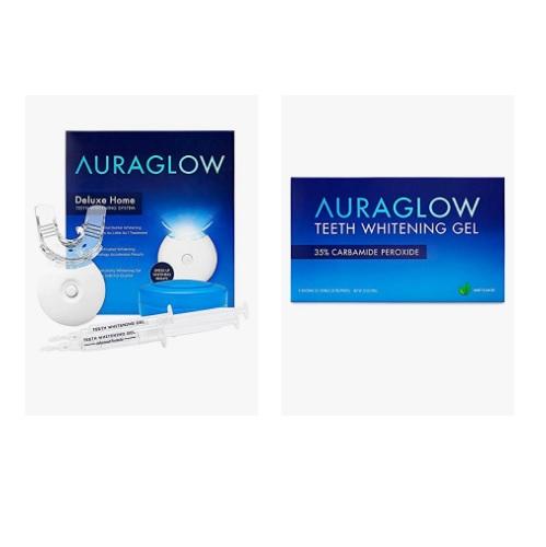 金盒特价!Amazon精选AuraGlow 牙齿美白产品促销!