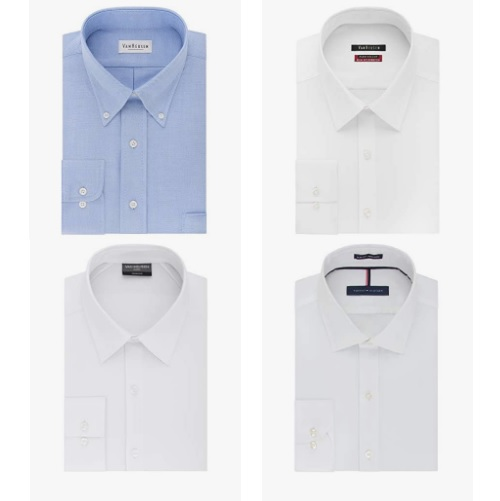 Up to 30% off dress shirts from Van Heusen, Calvin Klein, Kenneth Cole REACTION and more