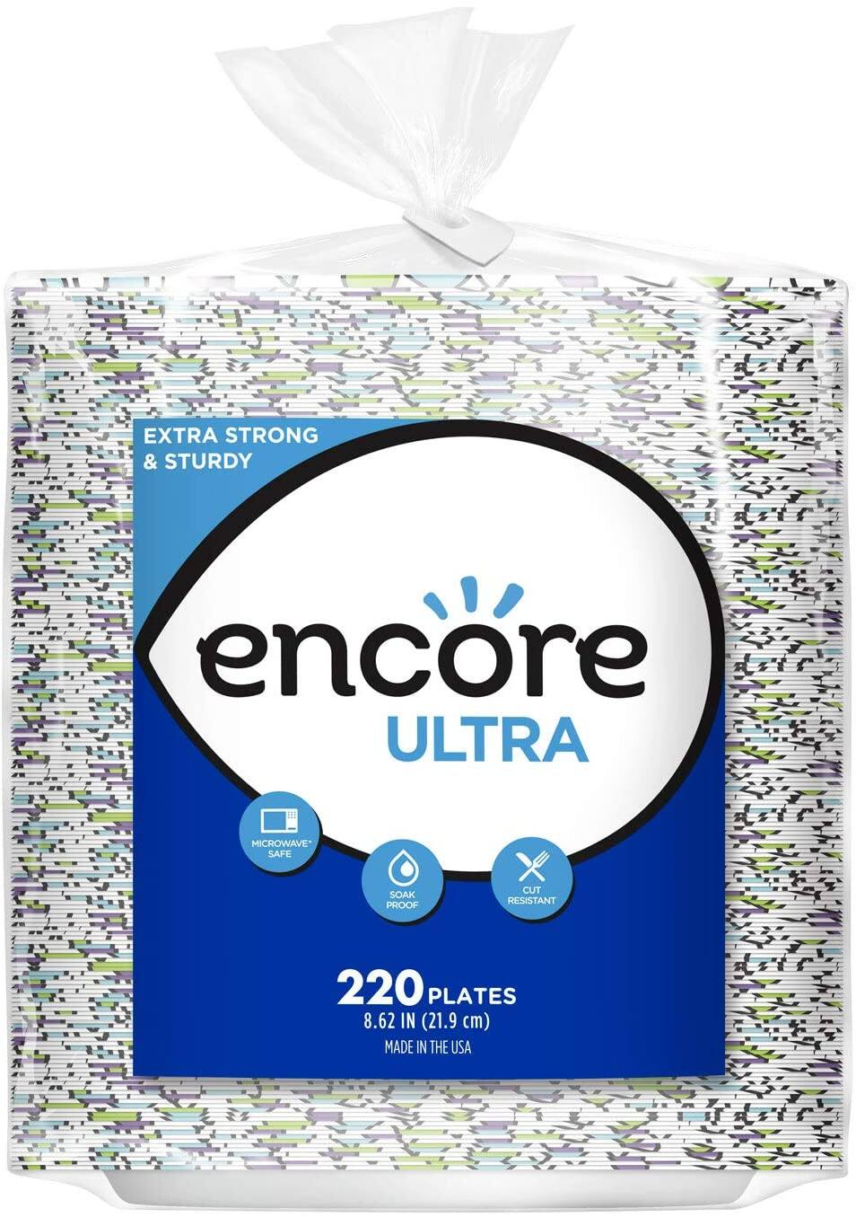 "Prime Members: 880-Count Encore 8.62"" Ultra Paper Plates"