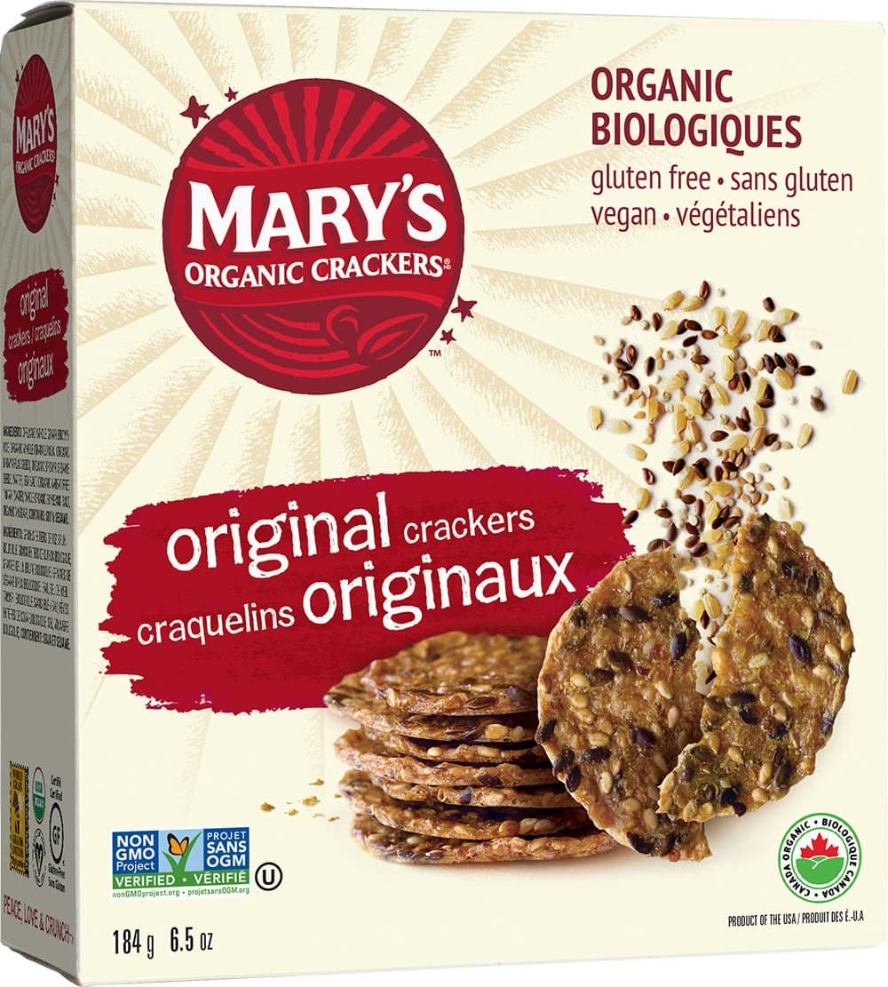 Mary's Gone Crackers: 6.5oz Original Organic Brown Rice Crackers