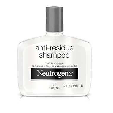 Neutrogena Anti-Residue Clarifying Shampoo, Gentle Non-Irritating Clarifying Shampoo to Remove Hair Build-Up & Residue, 12 fl. oz, 12 fl. oz