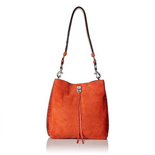 Rebecca Minkoff Darren Shoulder Bag, Rust