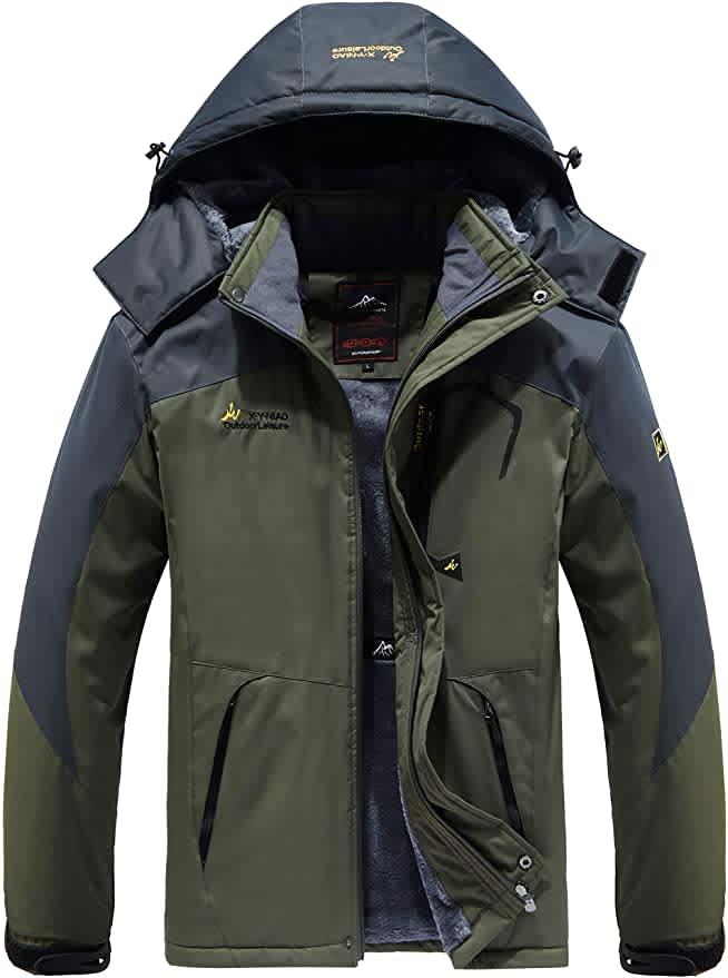 Vcansion Men's Ski Jacket