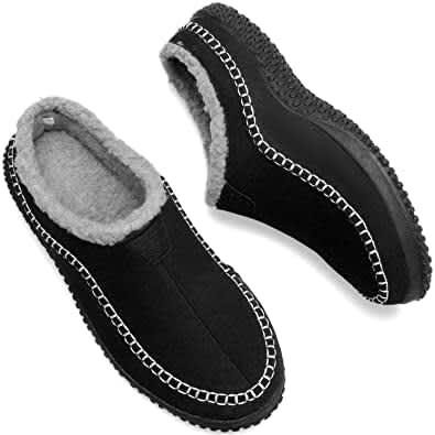 Jiasuqi Men's Memory Foam Slippers