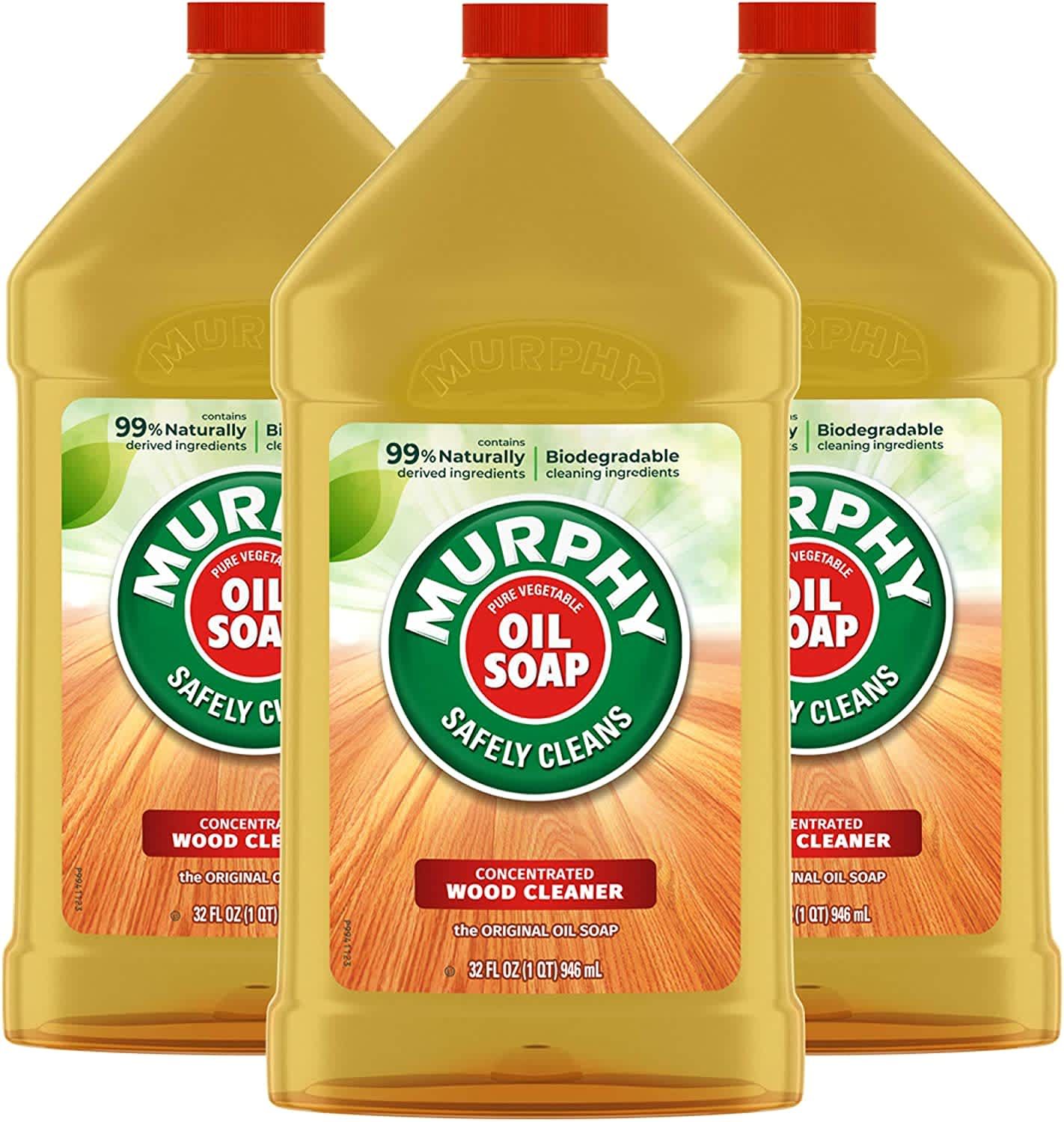 Murphy Oil Soap Wood Cleaner and Polish 32-oz. Bottle 3-Pack