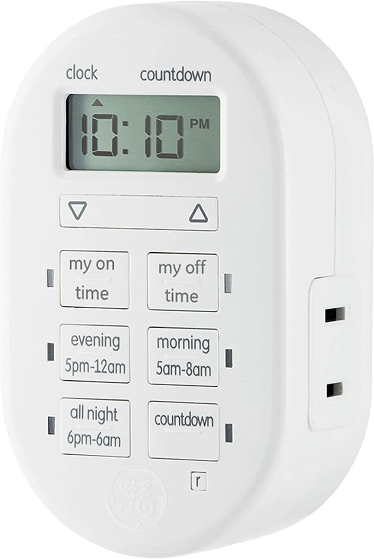 MyTouchSmart 1-Outlet Indoor Digital Timer