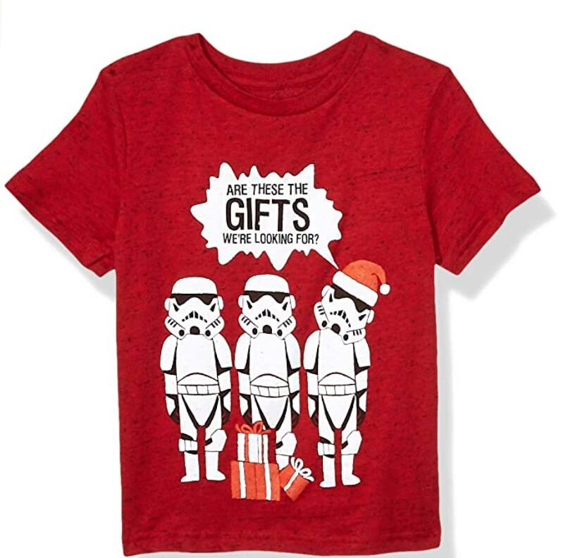 Star Wars Boys' Little Ugly Christmas T-Shirts