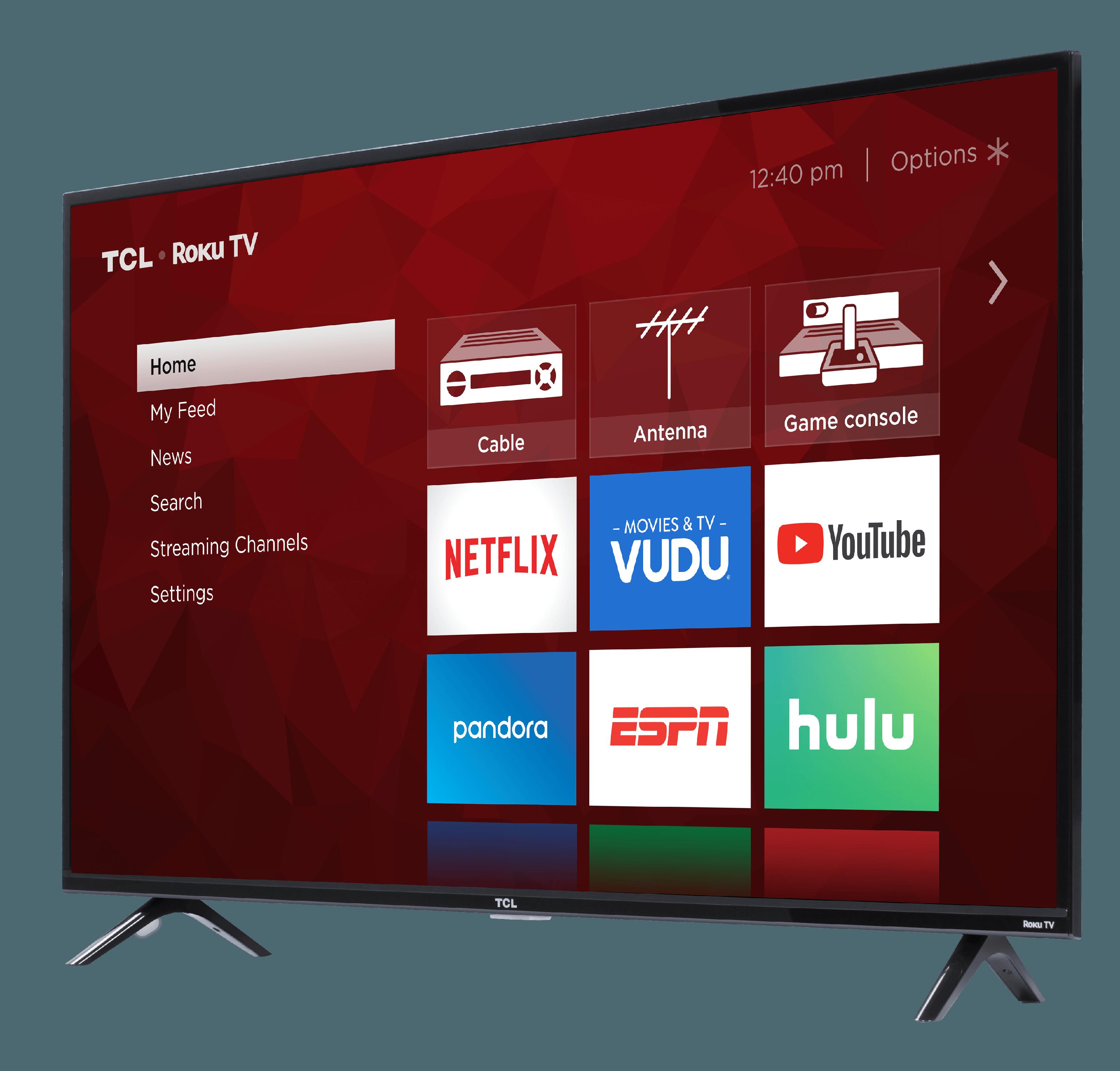 "75"" TCL 75S431 4K UHD LED Roku Smart TV"
