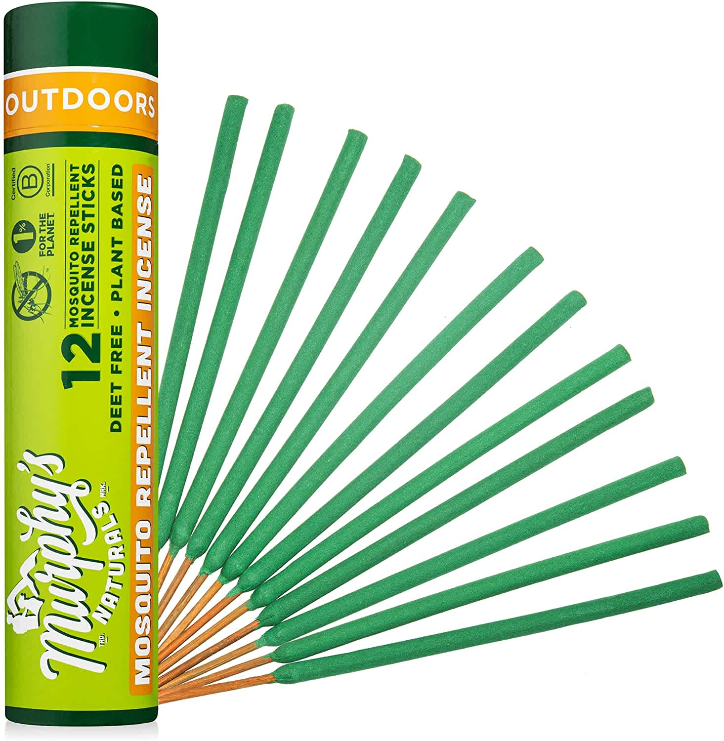 Murphy's Naturals Mosquito Repellent Incense Sticks 12-Pack
