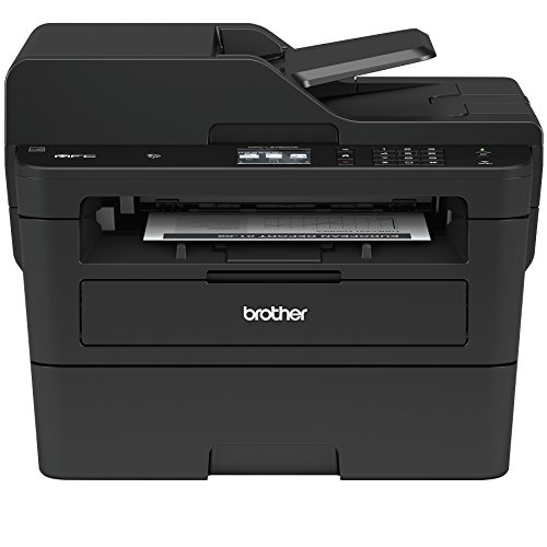 Brother Compact Monochrome Laser All-in-One Multi-function Printer, MFCL2750DW, 2.7-Inch Color Touchscreen