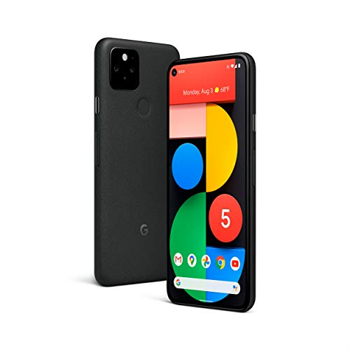 Google Pixel 5-5G Android Phone - Water Resistant - Unlocked Smartphone with Night Sight and Ultrawide Lens - Sorta Sage