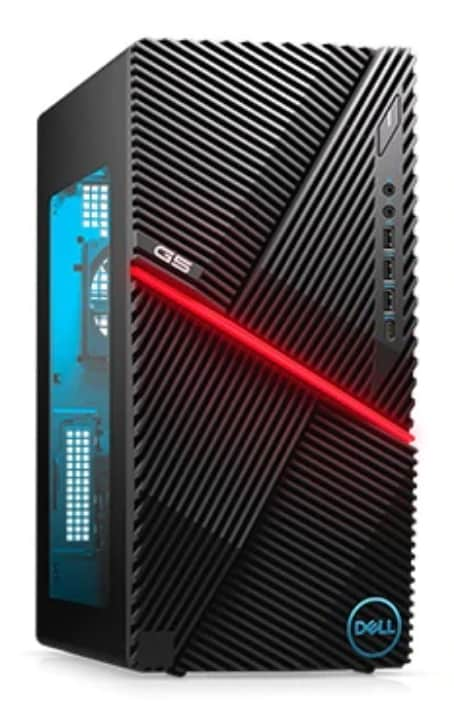 Dell G5 10th-Gen Comet Lake i7 Gaming Desktop PC w/ AMD 6GB GPU