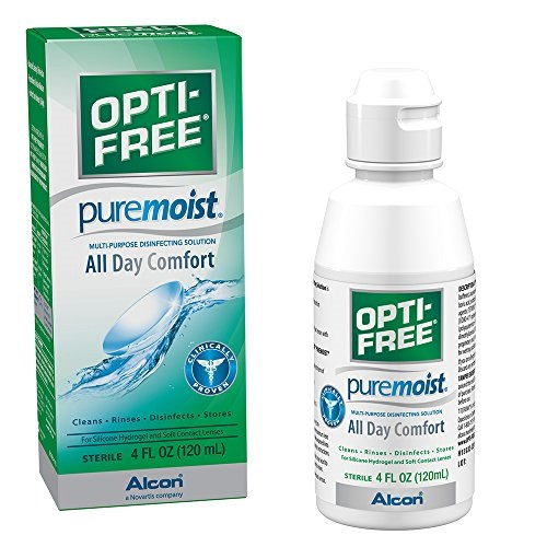 Opti-free Puremoist Multi-Purpose Disinfecting Solution, 4 Oz