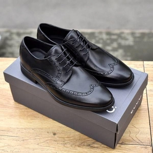 ECCO 爱步 Melbourne墨本系列 男士真皮雕花牛津鞋621664