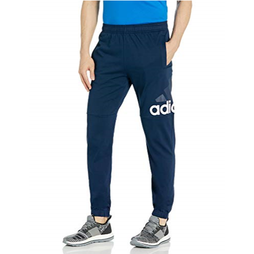 速抢!adidas阿迪达斯 Essentials Performance Logo 男士运动长裤