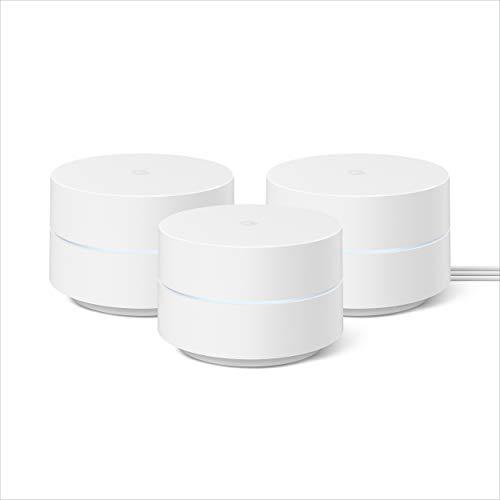 新品上市!Google Wifi 2020款 Mesh 套装 3件