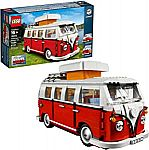 LEGO Creator Expert Bundle - VW Campervan (10220) + London Bus (10258) Sets