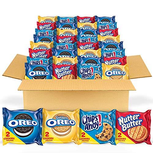 OREO Original, Golden, CHIPS AHOY! & Nutter Butter Cookie Snacks