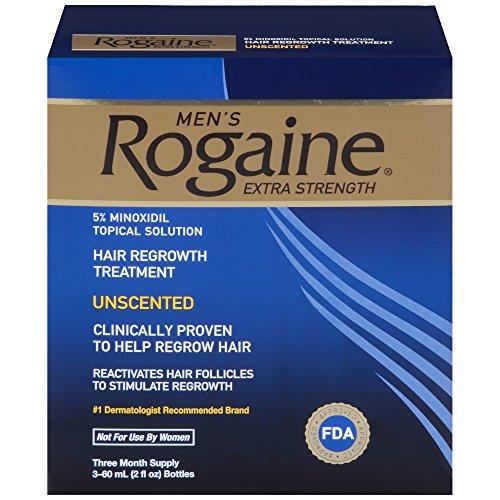 秃头克星! Rogaine落健 男性 生发剂,2 oz/瓶,共3瓶,可使用3月
