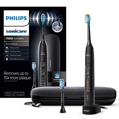 金盒特价!Philips Sonicare ExpertClean 7500 蓝牙电动牙刷