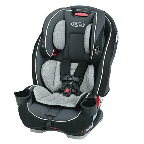 仅限今日!Graco SlimFit 全合一儿童双向汽车安全座椅