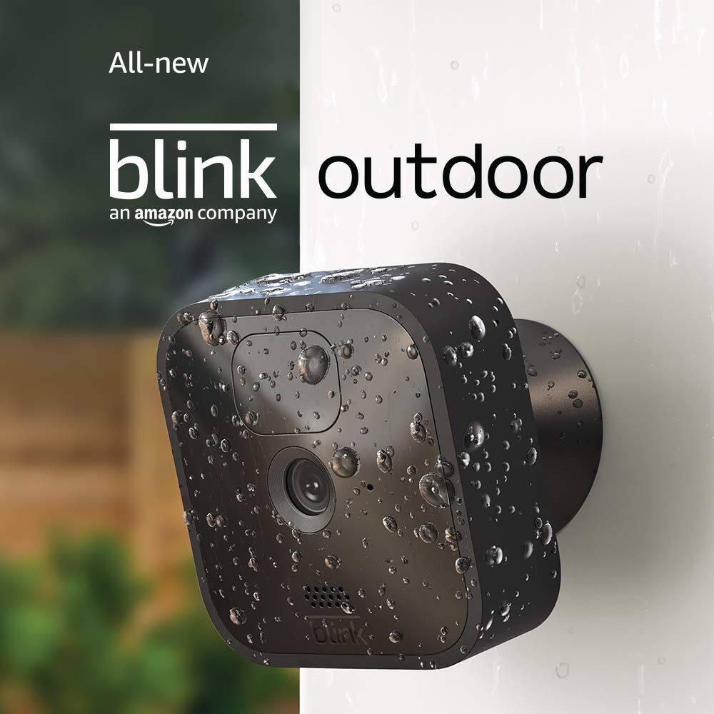 全新 Blink 1080P 户外智能安防摄像头
