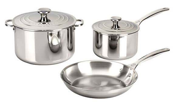 Le Creuset Stainless Steel Cookware Sale