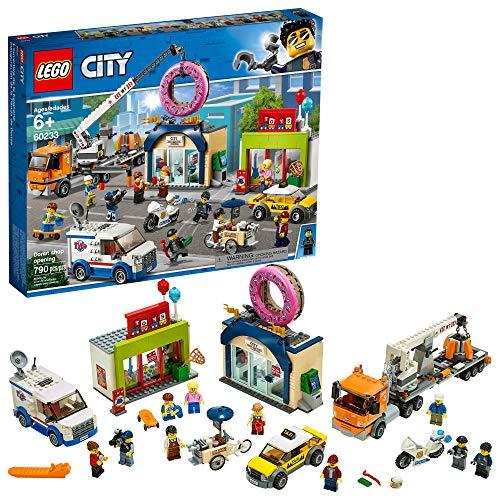 史低价!LEGO 乐高 City 城市系列 60233 甜甜圈店开业