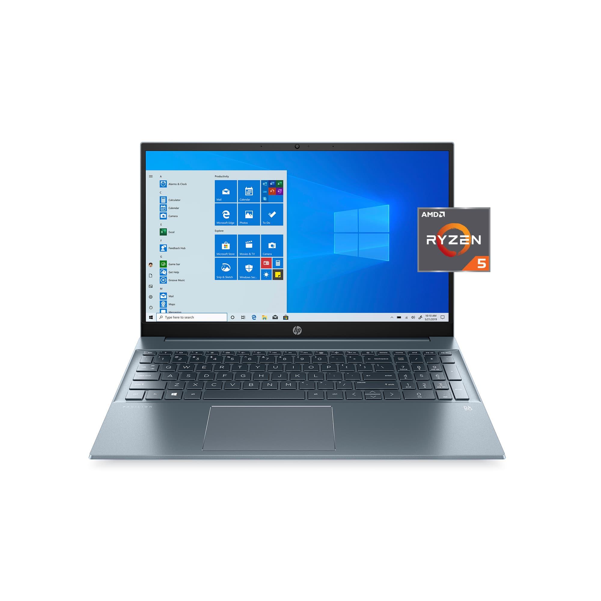 "HP Pavilion Laptop: Ryzen 5 4500U, 15.6"" IPS, 8GB DDR4, 512GB SSD"