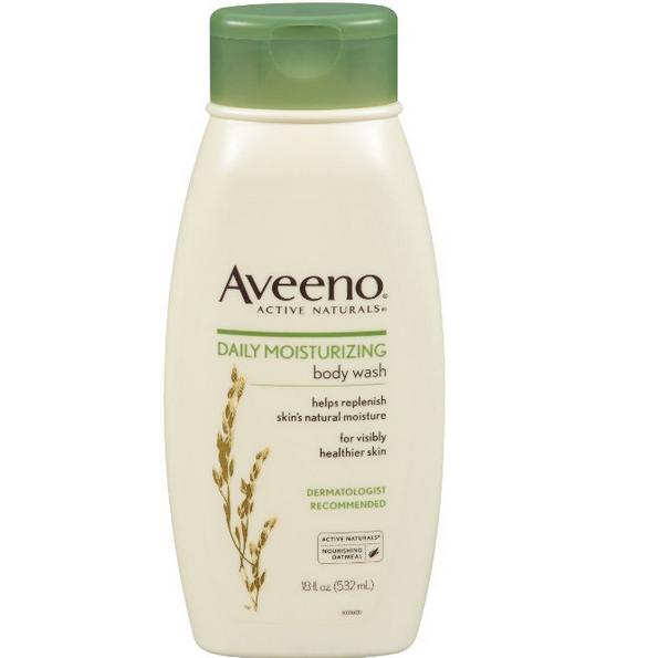 Aveeno艾维诺 天然燕麦精华滋润保湿沐浴乳,18 oz