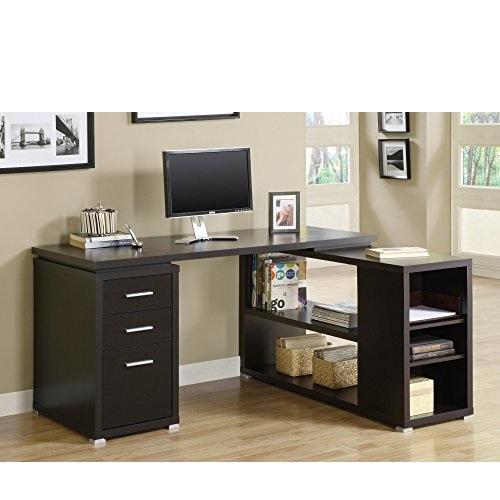 Monarch Specialties CAPPUCCINO LEFT OR RIGHT FACING CORNER Computer Desk
