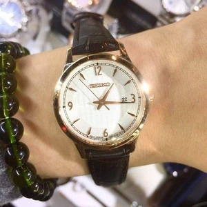 Seiko 精工 SXDG98 女士太阳能石英腕表