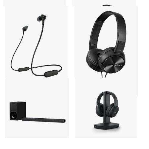 Amazon精选Sony索尼 条形音箱和耳机大促销!