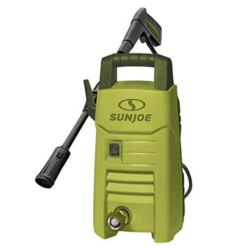 Sun Joe SPX206E 1600 PSI 1.45 GPM Max Compact Electric Pressure Washer, w/Variable Tip Lance