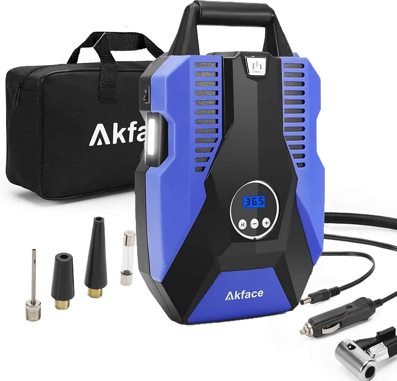 Akface Portable Air Compressor Tire Inflator
