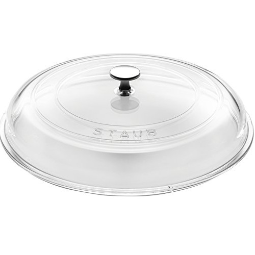 STAUB 40501-030-0, Glass Lid, Transparent, 30cm