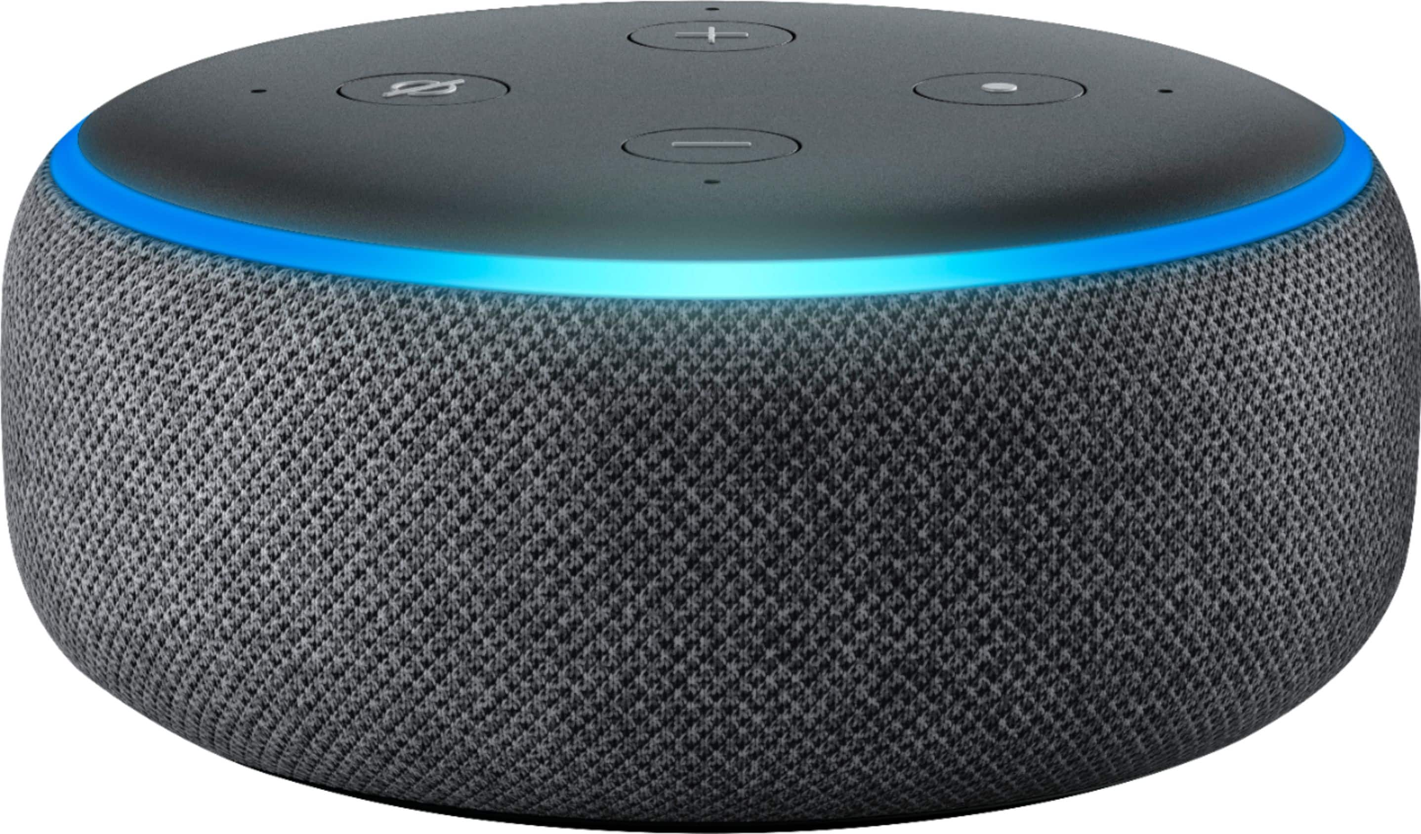 Echo Dot Smart speaker (3rd Gen) + Sengled Soft White A19 Smart Bulb