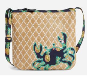 Vera Bradley 30% Off Outlet Sale: Factory Style Square Market Tote Bag $2.45, Factory Style Beach Crossbody $12.25, Collegiate Zip ID Lanyard (various) $5.60 & More + FS on $35+