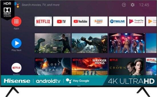 """70"""" Hisense 70H6570G 4K UHD LED Smart Android TV"""