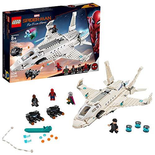 史低价!LEGO乐高 Marvel Spider Man乐高蜘蛛侠系列  76130 钢铁侠战机和无人机攻击