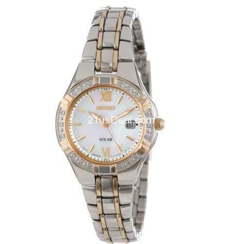 Seiko Women's SUT068 Dress-Solar Classic Watch