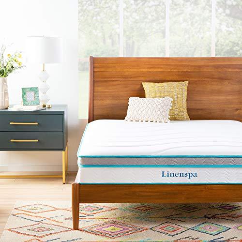 仅限今日! Linenspa 10英寸记忆泡沫床垫,Queen尺码