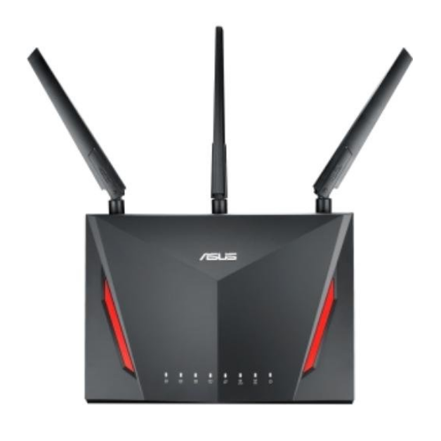 ASUS AC2900 WiFi Dual-band Gigabit Wireless Router with 1.8GHz Dual-core Processor and AiProtection Network Security Powered by Trend Micro (RT-AC86U)