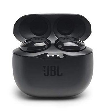 JBL Tune 125TWS True Wireless In-Ear Headphones - JBL Pure Bass Sound, 32H Battery, Bluetooth, Fast Pair, Comfortable, Wireless Calls, Music, Native Voice Assistant,   (Black)