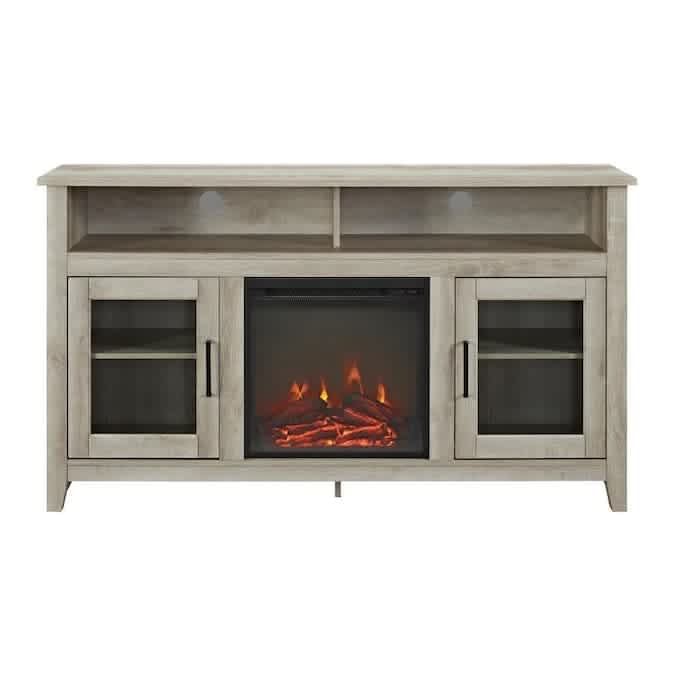 Walker Edison Fireplace TV Stands at Lowe's