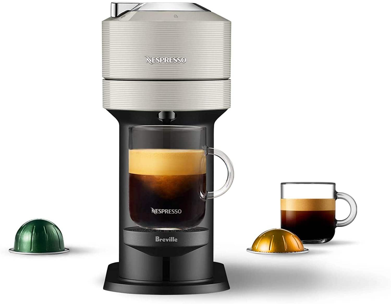 Breville or De'Longhi Nespresso Vertuo Next Coffee/Espresso Machine + 30-Ct Coffee Pods