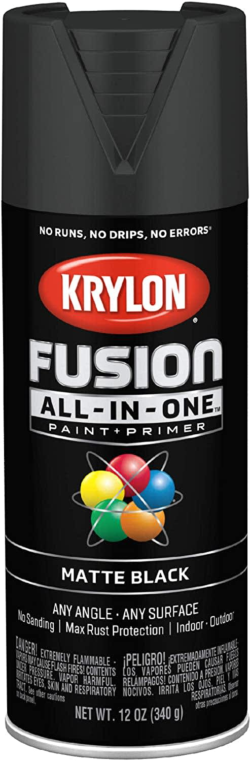 Krylon Fusion All-In-One Spray Paint + Primer 12-oz. Can