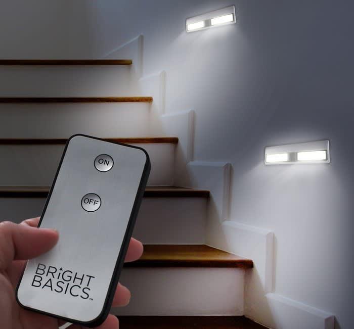 Bright Basics Wireless Light Bar 2-Pack